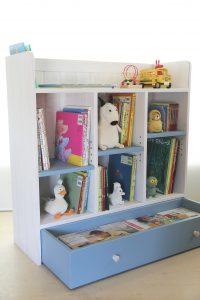 おもちゃ箱付きの絵本棚big