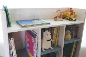 おもちゃ箱付き絵本棚big ディスプレイ棚