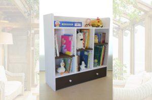 おもちゃ箱付き絵本棚bigの商品ページへ