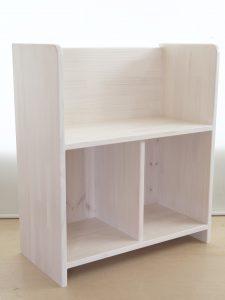 シンプルな小型絵本棚 商品構成の拡大写真