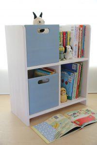 絵本棚とおもちゃ箱 上下収納